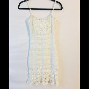 Guess White Dress SZ S